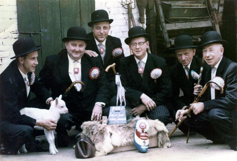 De oprichters in 1960